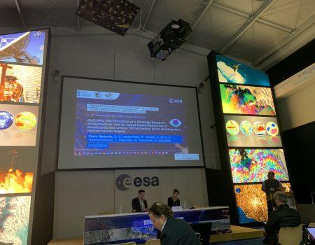 Presentation about CyCLOPS in ESA-ESRIN summit