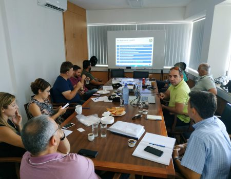 Presentation of the CyCLOPS project at the Electricity Authority of Cyprus