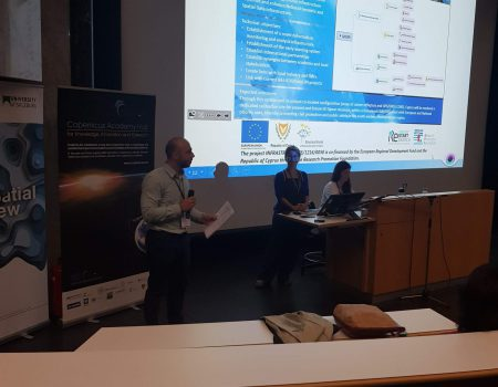 Presentation at EARSeL Symposium 2019